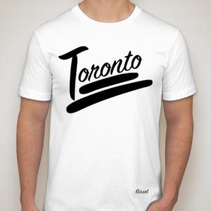 100% Toronto Collection Crewneck - White