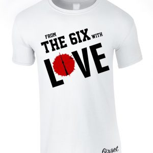 From the 6ix with love by 6ixset - White Crewneck T-Shirt