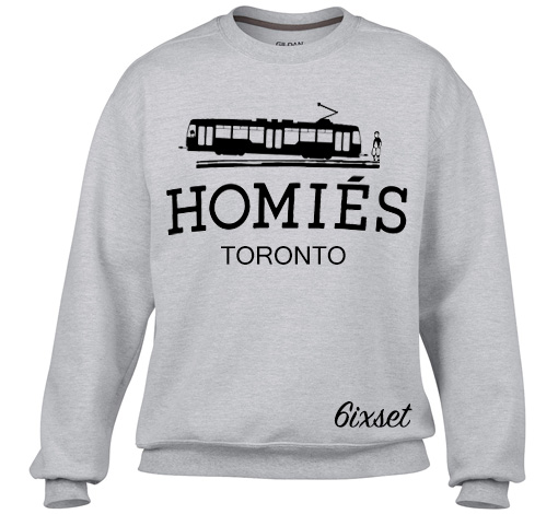Relatively Homies (Hermes) Toronto Sweater by 6ixset VK49