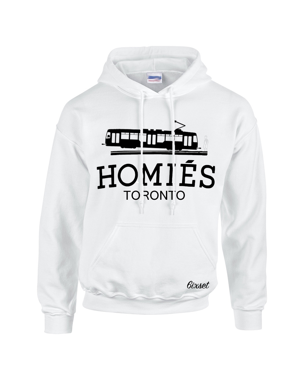 Excellent Homies (Hermes) Toronto Hooded Sweatshirt by 6ixset AT94