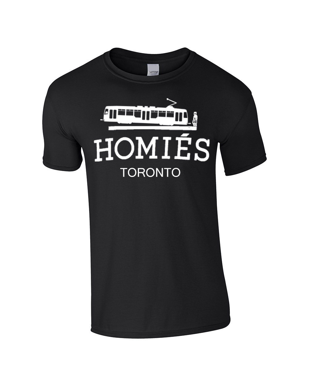 Well known Homies (Hermes) Toronto T-Shirt by 6ixset BI28