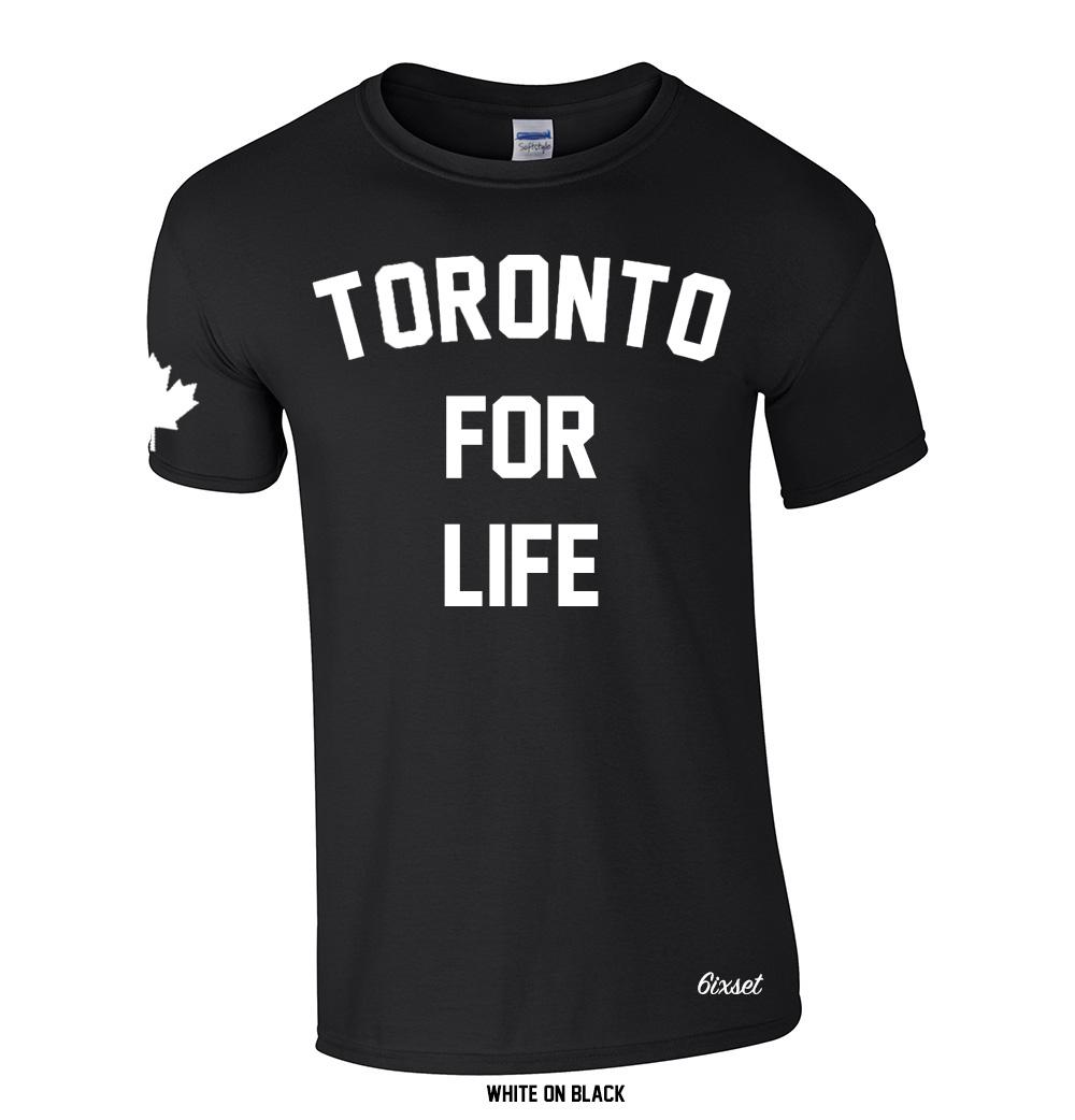 0413e522 Toronto For Life Crewneck T-Shirt by 6ixset