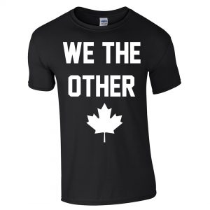 We The Other - White on Black T-Shirt by 6ixset