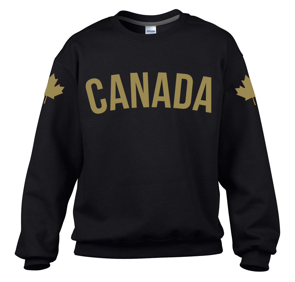 Canadian Flag Sweatshirt FLAGS Choice of size /& colours.