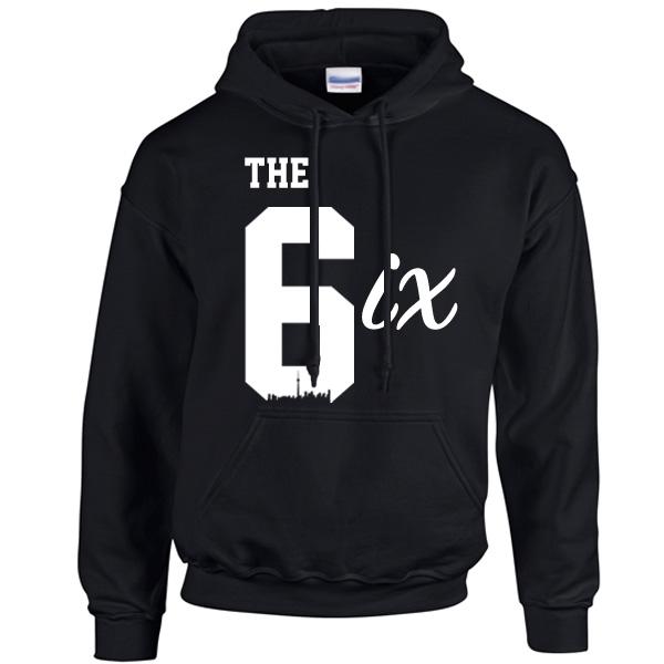 e79745421fa the-6ix-by-6ixset-white-on-black-hoodie-