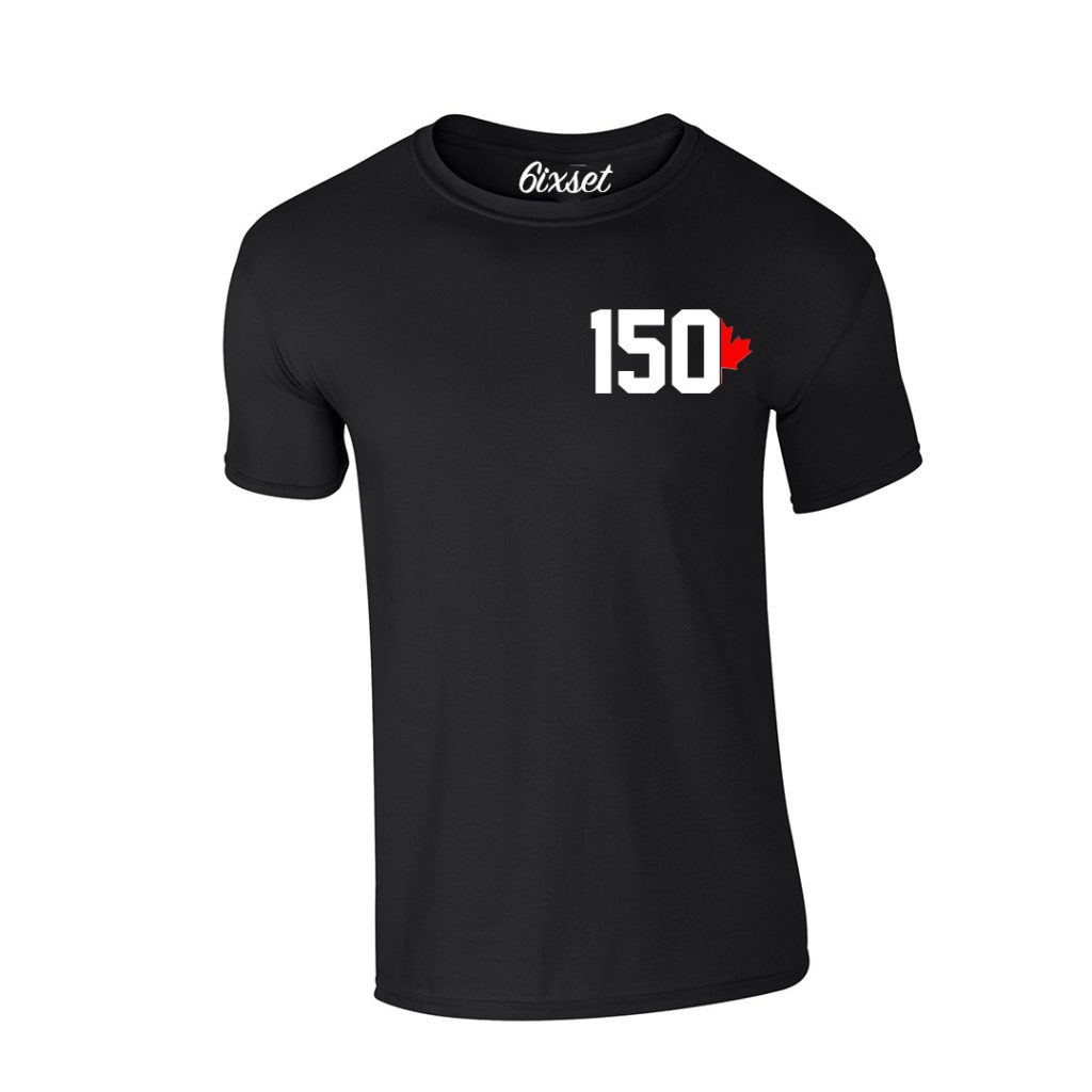 canada-150-by-6ixset-white-and-red-on-black-tshirt