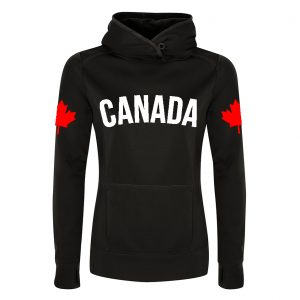 canada-series-dual-flag-by-6ixset-white-on-black-w-red-flags-ladies-hooded-sweatshirt