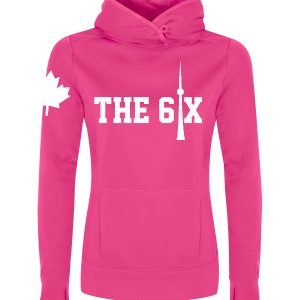 cn-tower-x-the-6ix-white-on-pink-ladies-hoodie