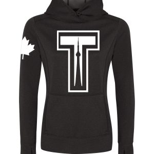 tower-by-6ixset-white-on-dark-heather-ladies-pullover-hoodie