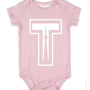 tower-by-6ixset-white-on-pink-baby-onesie