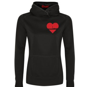 heart-of-the-6ix-by-6ixset-red-on-black-ladies-hooded-gameday-sweatshirt-crest-r