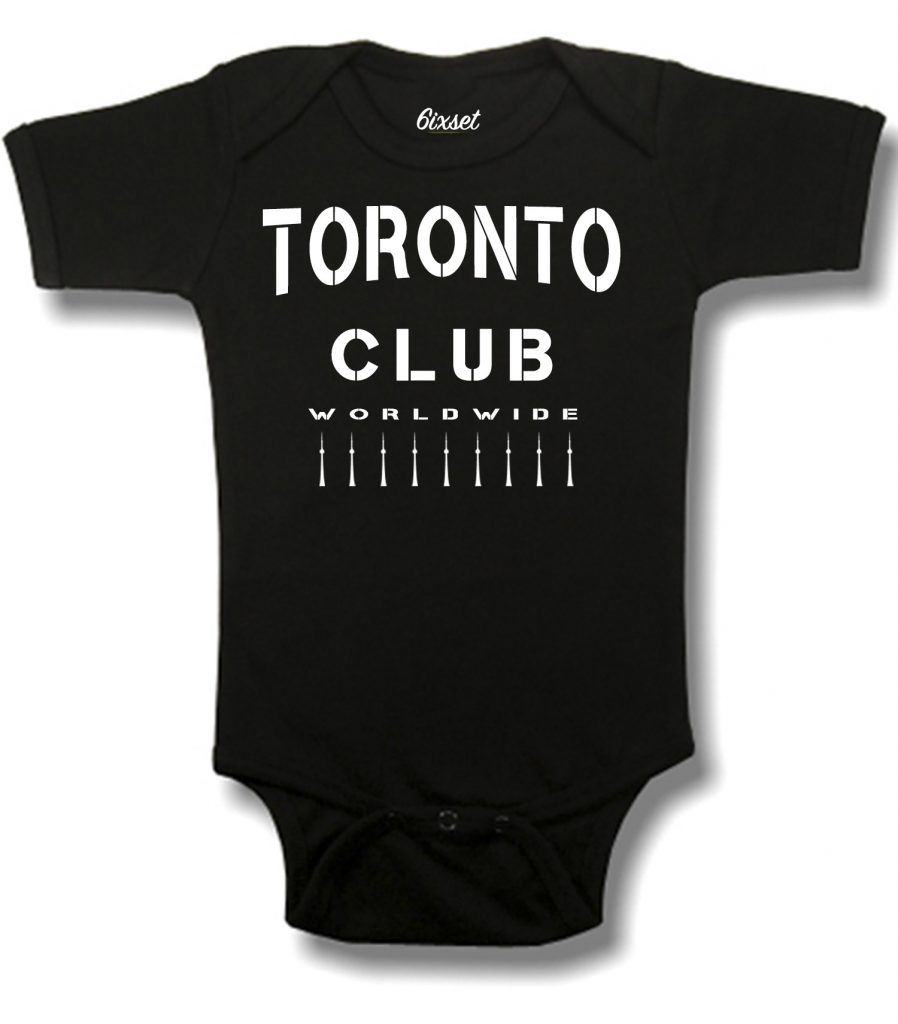Toronto Club Worldwide by 6ixset - Baby Onesie