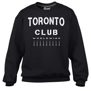 6ixset Club Worldwide by 6ixset  - Crewneck Sweatshirt