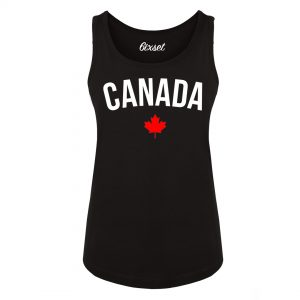 canada-with-flag-by-6ixset-white-on-black-ladies-tanktop