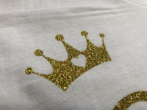 bridal - crown p gold glitter