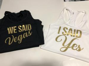 bridal - we said vegas