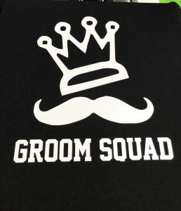 custom - groom squad - black