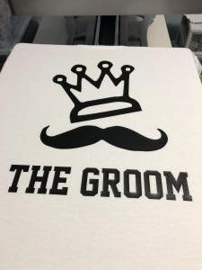 custom - groom white