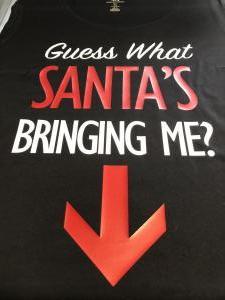 custom - guess what sant's bringing me