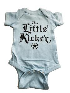 custom - our little kicker baby one piece