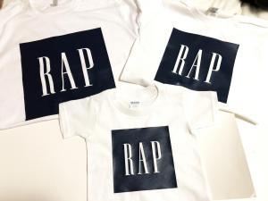 custom - rap gap family t-shirts