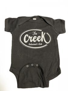 custom - the creek restaurant baby one piece