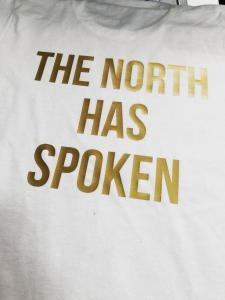 custom - the north has spoken