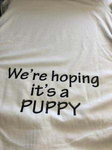 custom - we're hoping it's a puppy