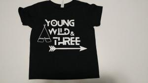 custom - young wild and three